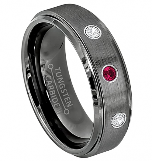 Jewelry Avalanche .21ctw Ruby & Diamond Ring