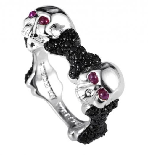 Stephen Webster Skull & Bones Ring