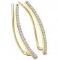 Dazzlingrock Collection Diamond Crawler Earrings