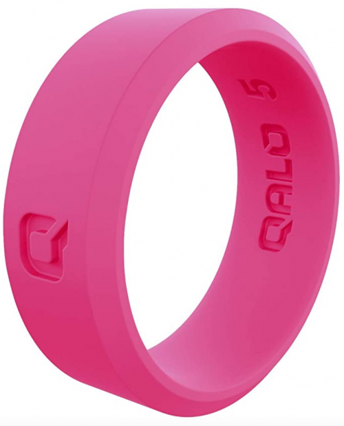 QALO Women's Modern Silicone Ring Collection