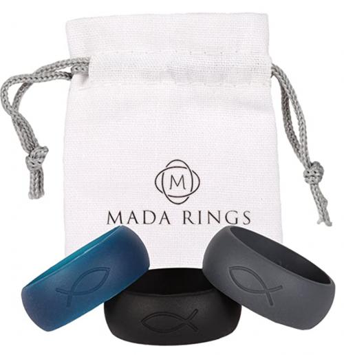 Mada Rings Silicone Engagement Wedding Rings