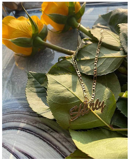 Beleco Jewelry Personalized Name Necklace