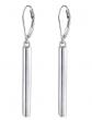 Ladytree Vertical Drop Dangle Earrings
