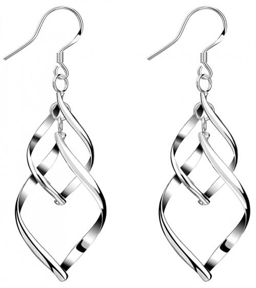 Bassion Linear Loops Earrings