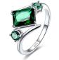 Merthus Emerald Geometric Shaped Ring