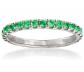 Ross-Simons .50 ct. Emerald Ring
