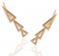 Humble Chic Gold-Plated Ear Climbers