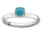 Black Bow Jewelry Co. Stackable Turquoise Ring