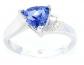 Elizabeth Jewelry Trillion Ring