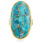 Ross-Simons Mosaic Turquoise Ring