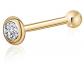 Massete 14k Gold Nose Ring Stud