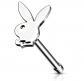 Playboy Bunny Top Nose Bone Stud