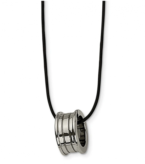 Black Bow Jewelry Co. Leather Cord Necklace