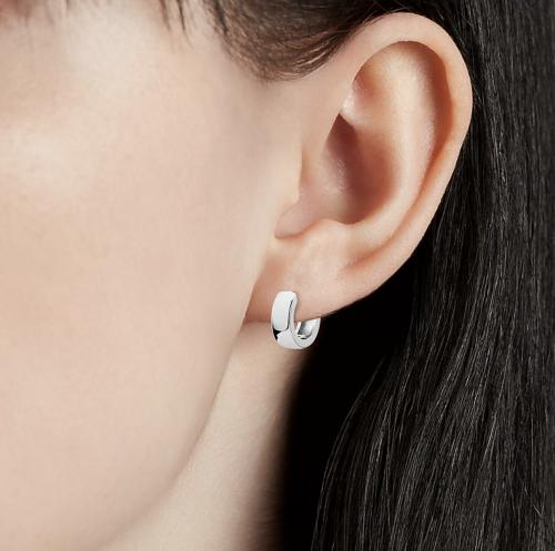 Blue Nile Mini Huggie Hoop Earrings