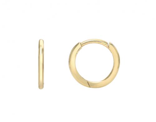 Zoe Lev 14k Gold Huggie Earrings