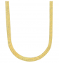 The Bling Factory Herringbone Chain