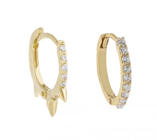 Adinas Jewels Cartilage Earring Set