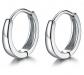 MASOP 925 Cartilage Hoop Earrings