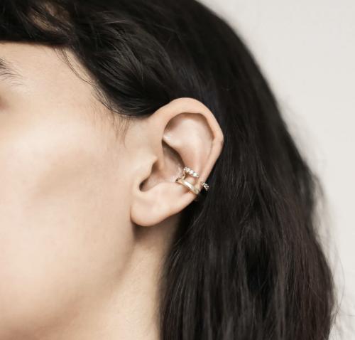 Maison Miru Crystal Claw Ear Cuff