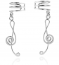 AeraVida Treble Clef Ear Cuffs