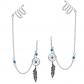 AeraVida Dreamcatcher & Ear Cuff Chain