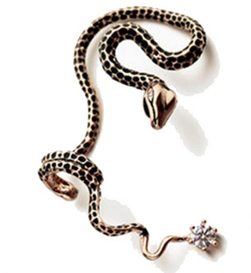 Cherryzz Unisex Special Fashion Snake Ear Cuff Ear Wrap Cool Eardrop Ear Clip