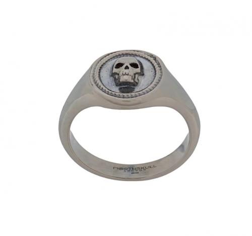 Northskull Atticus Skull Signet Pinky Ring