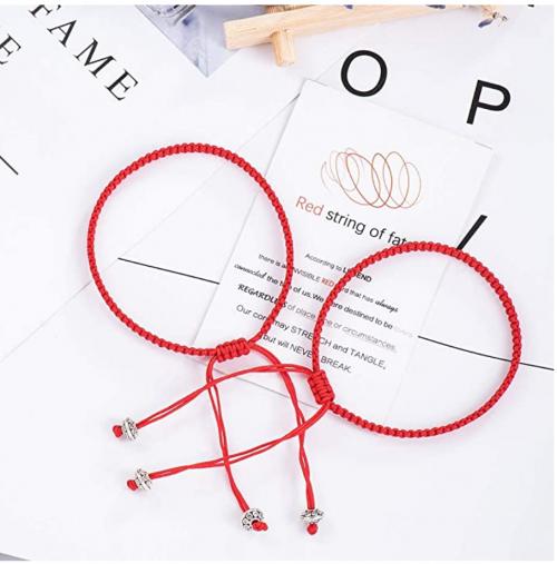 Seyaa Red String of Fate Bracelets