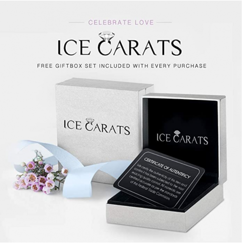 ICE CARATS Button Pearl Diamond Ring