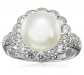 Amazon Collection Platinum Plated Ring