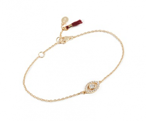 Shashi Evil Eye Pave Bracelet