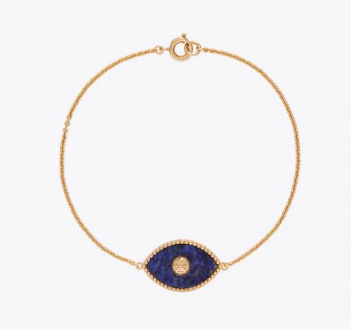 Tory Burch Evil Eye Chain Bracelet