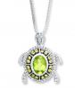 Kay Peridot Turtle Necklace