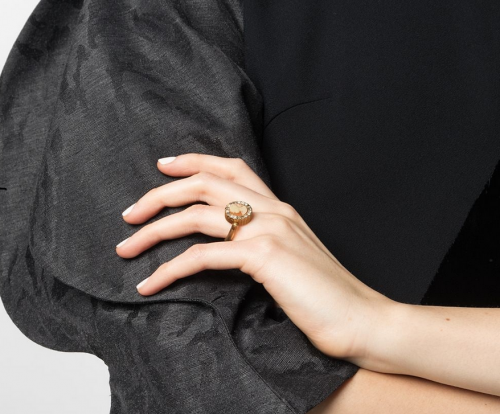 Ports 1961 Cameo Strass Ring