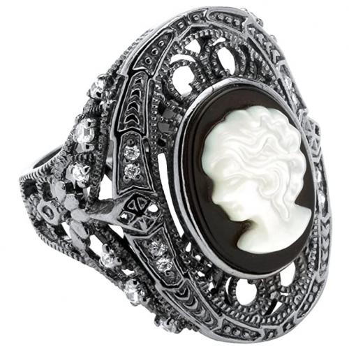 Palm Beach Jewelry Cameo Ring