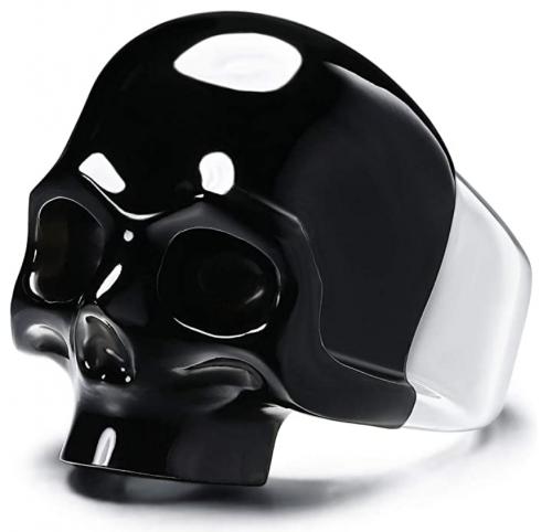Skullis Signature Gem Skull Ring