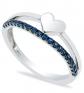 Macy's Sapphire Heart Ring