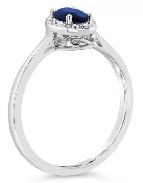 Macy's Sapphire and Diamond Accent Ring