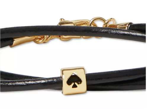 New York Colored Leather Cord Bracelet