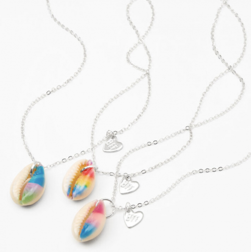 Claire's Tie-Dye Shell Necklace