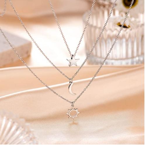 Shonyin Sun Moon Star Necklaces