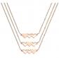 VLINRAS Best Friends Necklace for 3