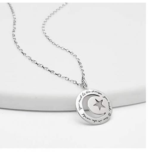 BB Becker Gandhi's World Necklace