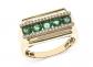 Bloomingdale's Emerald & Diamond Ring