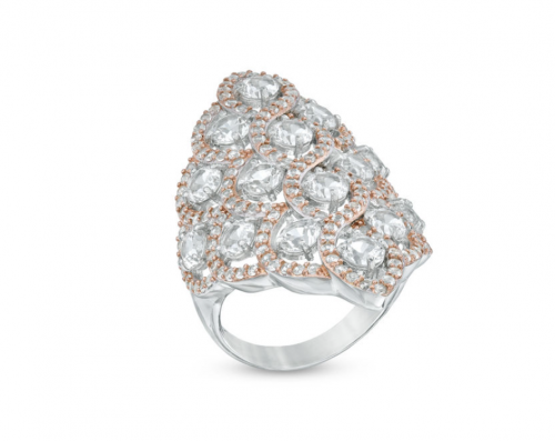 Zales Lattice Ring