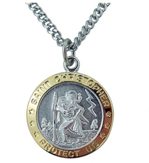 Catholic Patron Saint Pendants Necklace