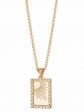 Estee Lalonde Rising Sun Frame Necklace