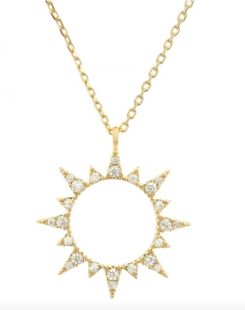 C.J.M Sun Necklace