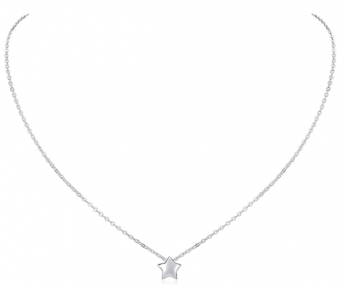 ChicSilver Star Necklace