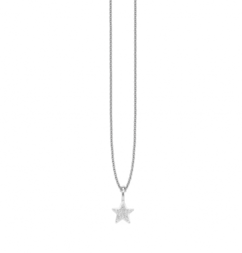 Missoma Pave Star Charm Necklace